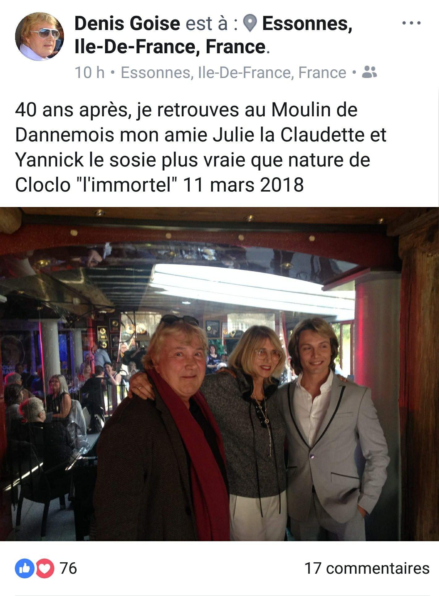Avec Denis Goise