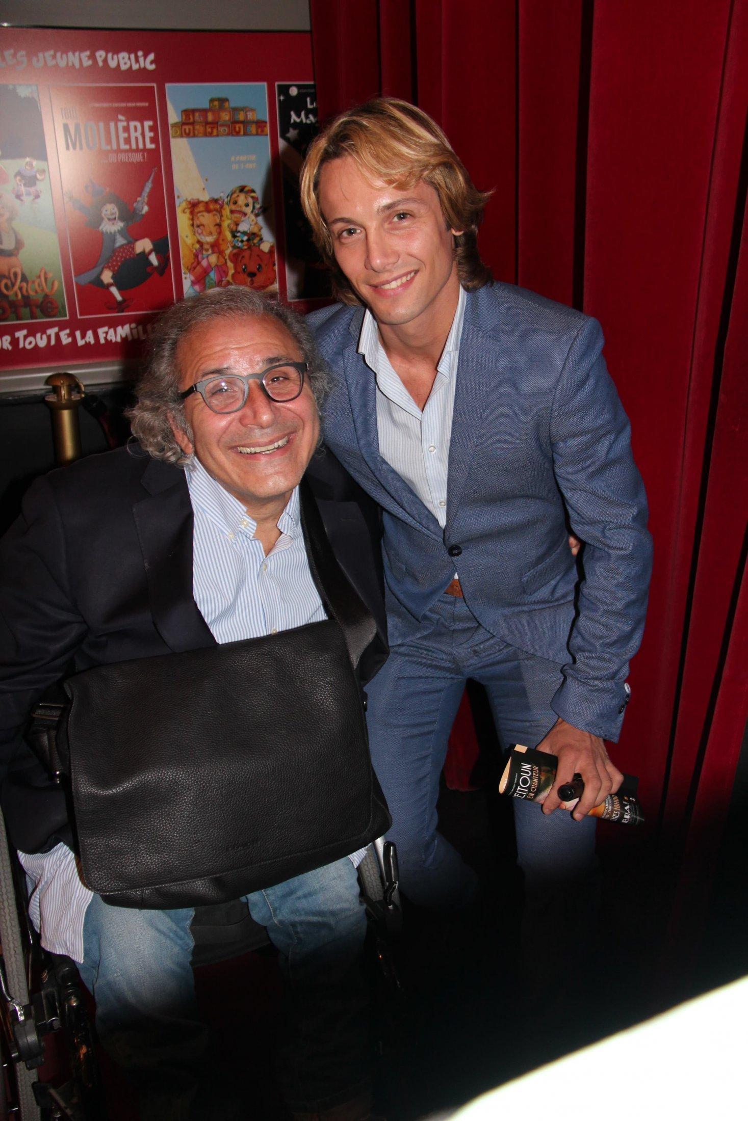 Avec Frédéric Zeitoun